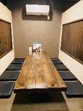 個室席完備◎8名様までご利用いただけます。