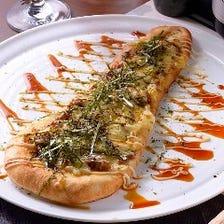 ナンでピザ!?