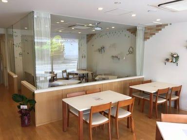cafe riccio  店内の画像