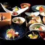 旬魚旬菜いち早く春の食材を盛り込んだ『春の会席コース』
