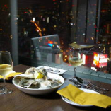 ◇牡蠣とシャンパンで乾杯
