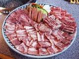 お昼のおまかせ飛騨牛セット・2000円