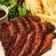 牛ハラミのステーキ&フリット