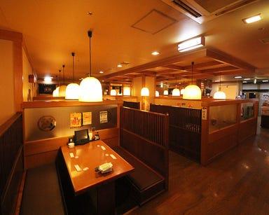 寿司と居酒屋魚民 広島新天地店 店内の画像