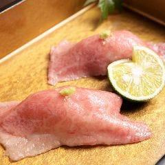 神戸牛の炙り握り