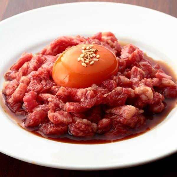 黒毛和牛ユッケの食べられるお店!