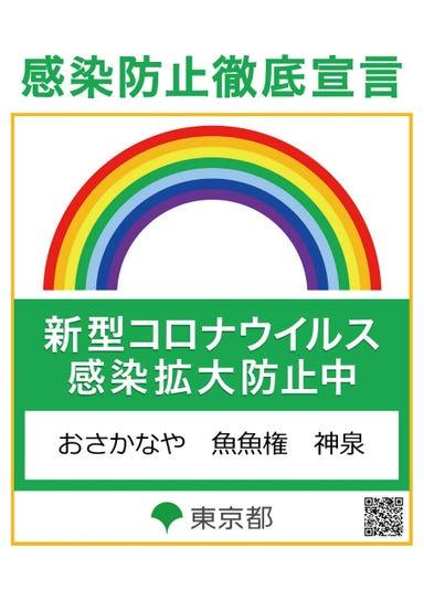 魚魚権 神泉店 メニューの画像