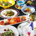 日本料理とフランス料理の融合。特別な時間に是非