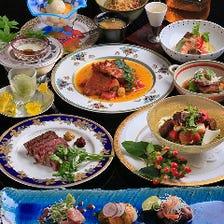 日本料理とフランス料理の融合