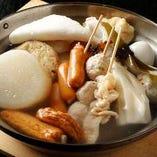 白のおでん鍋(関西風)