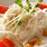 ホタテのサラダ