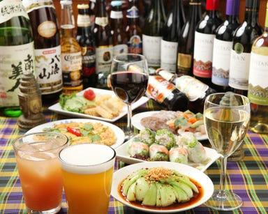 カンボジア料理 アンコールワット  コースの画像
