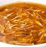 9、ふかひれスープ