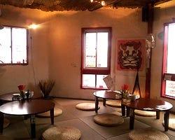 琉球畳で沖縄の雰囲気そのまま♪