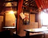 【2Fテーブル席】 カップルや少人数の飲み会ならコチラ!!