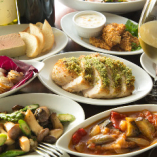 種類豊富な小皿料理で美味しいものを少しずつたくさん味わえます♪