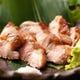 沖縄・読谷村の紅豚を使用した紅豚炭火焼