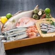 市場より直送される鮮魚!