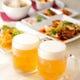 生ビールと中国料理