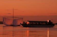 ◇◆料亭の屋形船で船遊び◆◇