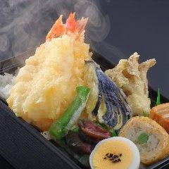 【いつでもアツアツ】発熱容器☆海老天重弁当・味噌汁付 ¥2,000