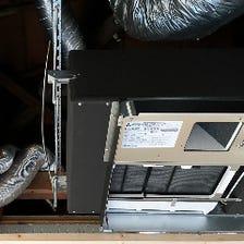 コロナ対策高機能換気設備を導入済み
