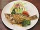 魚ニンニクバター焼き
