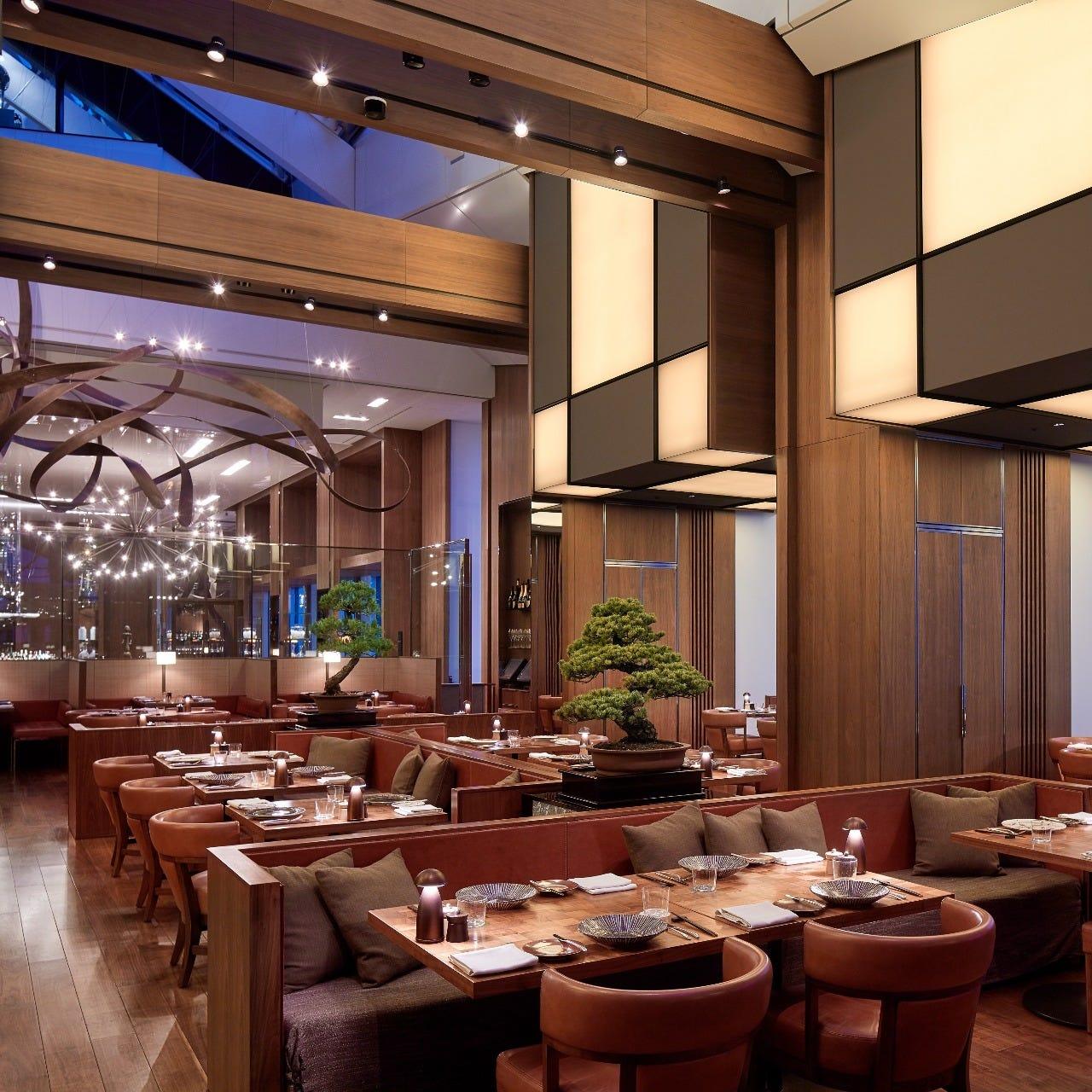 虎ノ門ヒルズホテル内レストラン