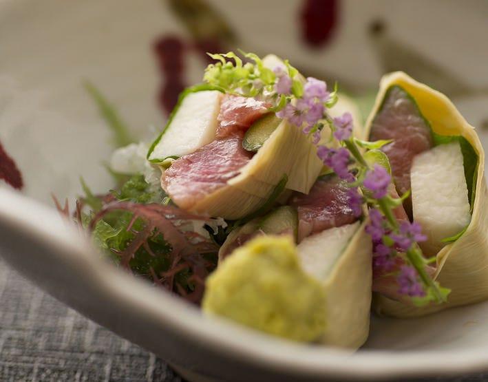 ◆新鮮な奈良県産食材を贅沢に堪能