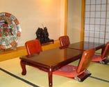 七五三・お祝い・法事・商談・宴会などに個室をご利用ください