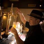 クラフトビールが豊富!生ビールが5種類&カクテル100種