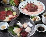 【希少品】鯨フルコース お一人様5,500円~