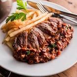 牛肉のフリカンドー