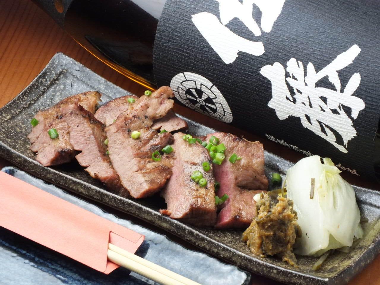仙台の名物料理「牛タン」