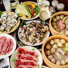 お昼の楽しみ!『蒸気料理食べ放題』