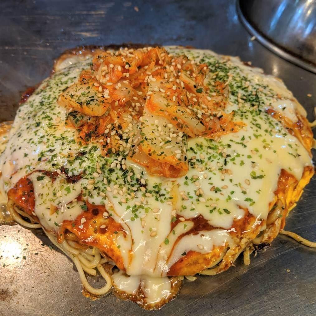 キムチ・明太子・チーズ・などパンチのあるトッピングも多数!