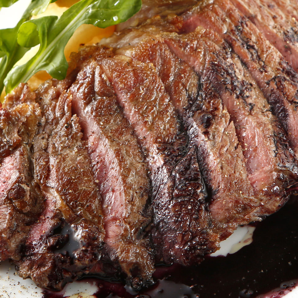 [当店名物]肉厚!ハラミステーキ