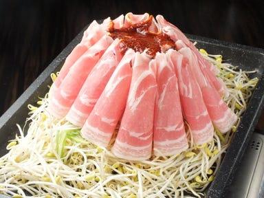 韓国料理 サムギョプサル とん豚テジ 新宿東口ゴジラロード店 コースの画像