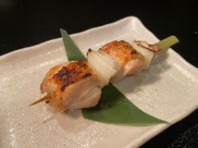 地養鶏(じようどり)ねぎま串