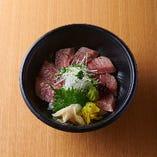 魚匠丼(塩鉄火丼)