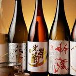 【厳選地酒】魚料理に合う日本酒を多数ご用意しております
