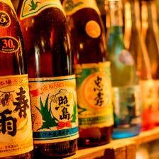 琉球泡盛全48醸造所の100本超が集結
