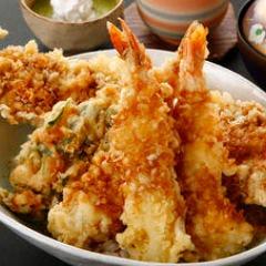 魚元スペシャル天丼