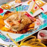 〈結納・顔合わせ〉 彩り鮮やかな料理で素敵な時間をご提供
