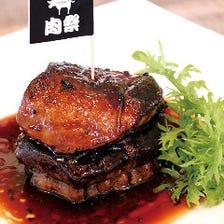 フォアグラと牛フィレ肉のロッシーニ