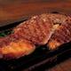 牛リブの鉄板ステーキ