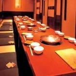 最大30名様ご宴会用個室 会社宴会や親族等の会席にご利用下さい