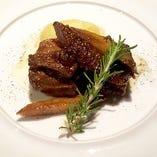 【冷凍】望来豚バラ肉とごぼうのバルサミコ煮込み