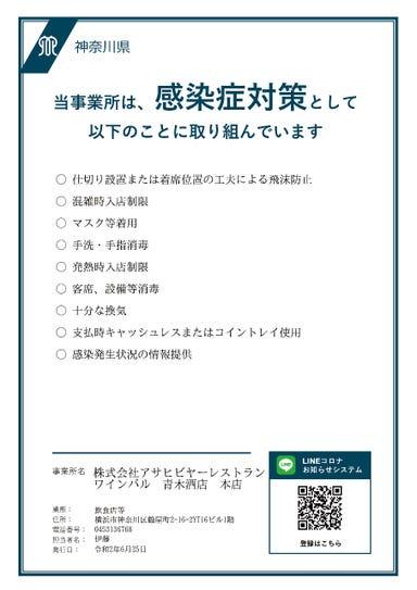 横浜ワインバル 青木酒店 本店 メニューの画像