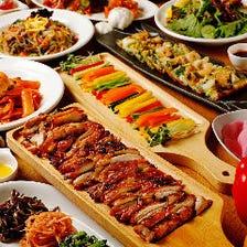 自慢の韓国料理でパーティーを♪